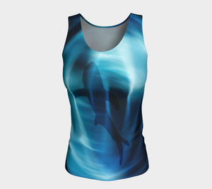 Ocean Lovers Quantum Shark Top