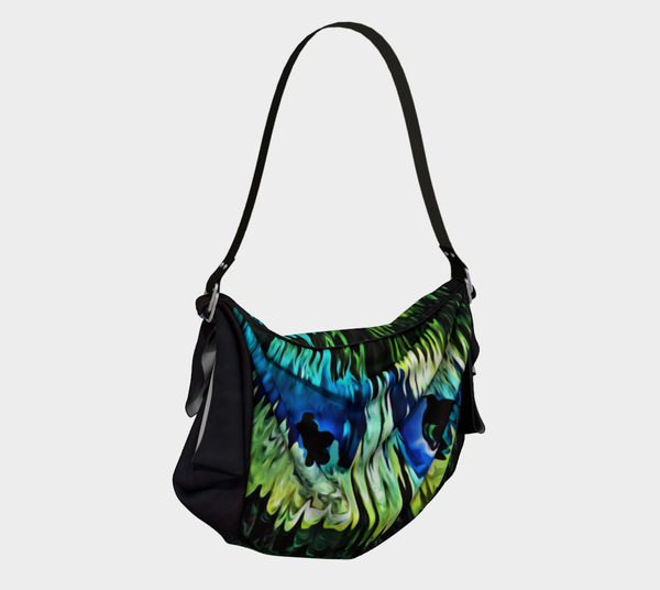 Magic Underwater Cave Designer Origami Tote