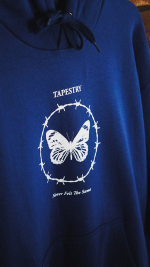 Tapestry 'Never Felt The Same' Royal Hoodie