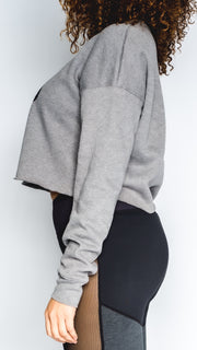 I Love Tap - Cropped Long Sleeve T-Shirt