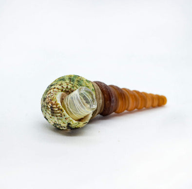 Green Seashell Pipe