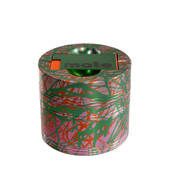 Mama P's Grinder 3 Color Pink, Red, and Green