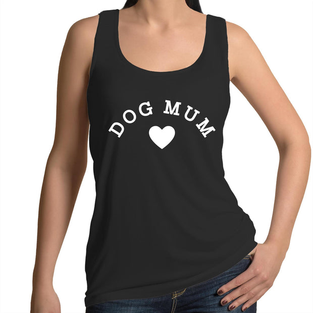 Dog Mum - Women's Black Singlet