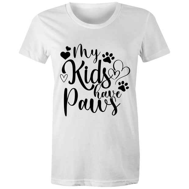 My Kids Have Paws - Women's Tee