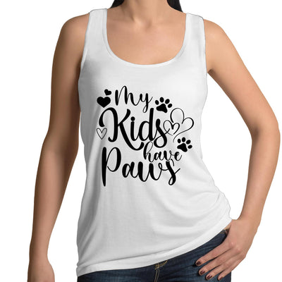 My Kids Have Paws - Womens Singlet