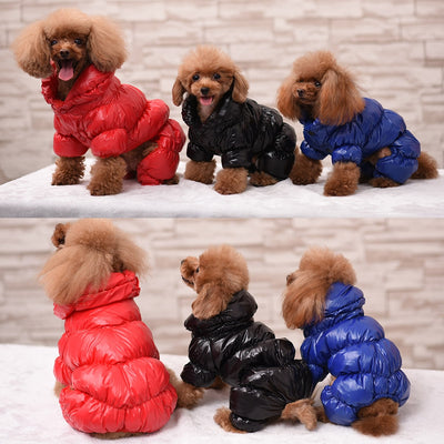 Posh Puffer Dog Coat