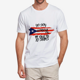 YO SOY BORI Men's Heavy Cotton Adult T-ShirtFlowPR