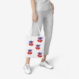 Fauna Boricua  Natural Canvas Tote Bags Flow PR