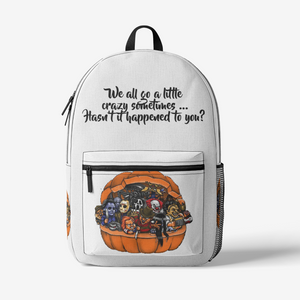 CrazyBackpack Retro Colorful Print Trendy Backpack FlowPR
