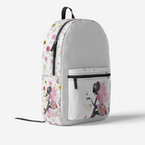 FAIRY FlowPR Retro Colorful Print Trendy Backpack