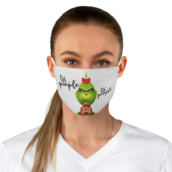 Lady Grinch Face Mask flowpr.net