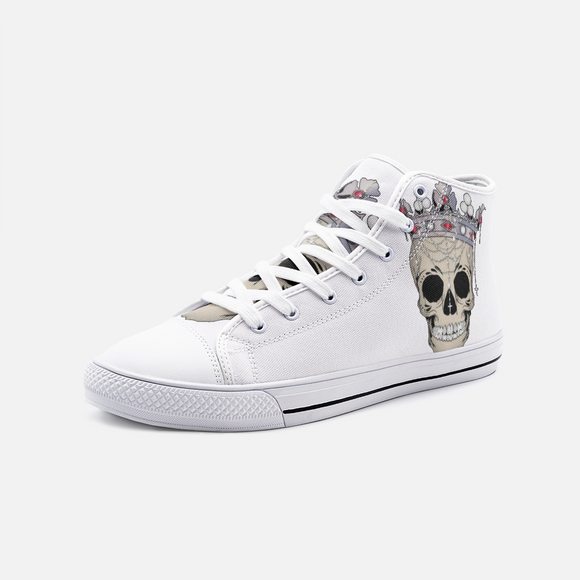 ROYALTY Unisex High Top Canvas Shoes FlowPR