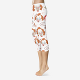 Penny All-Over Print Capri Leggings FlowPR