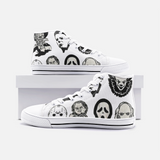 Unisex Friends High Top Canvas Shoes FlowPR
