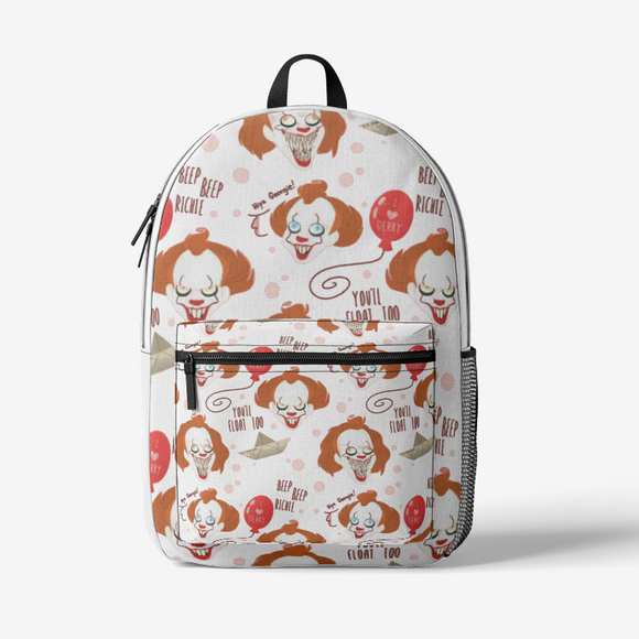 Penny FlowPR  Retro Colorful Print Trendy Backpack