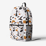 Halloween World FlowPR Retro Colorful Print Trendy Backpack