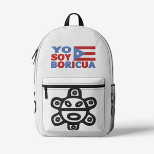 Yo Soy Boricua FlowPR Retro Colorful Print Trendy Backpack