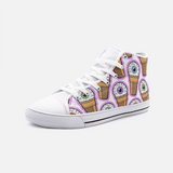 (Eye) Ice Cream Unisex High Top Canvas Shoes FlowPR