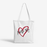 PR-Puerto Rico Heavy Duty and Strong Natural Canvas Tote Bags FlowPR