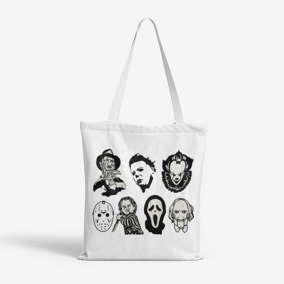 AMIGOS/ FRIENDS Natural Canvas Tote Bags FlowPR