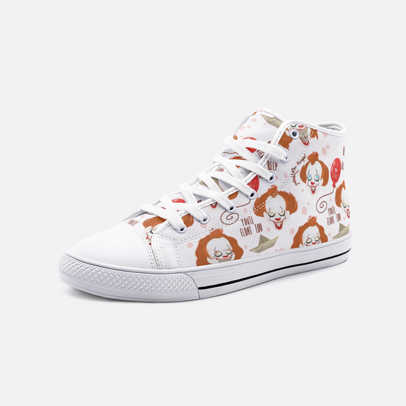 Pennywise Unisex High Top Canvas Shoes