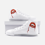 Vampire Lips Unisex High Top Canvas Shoes FlowPR