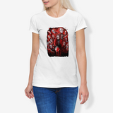 Jasonvoorhees FlowPRWomen's Cotton Stretch CrewNeck T-Shirt