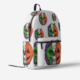 WSP Retro Colorful Print Trendy Backpack FlowPR