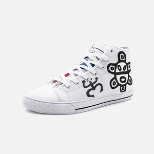 Tainos FlowPR Unisex High Top Canvas Shoes