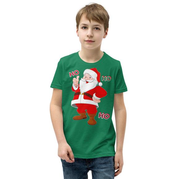 Little Santa Unisex Youth Short Sleeve T-Shirt flowpr.net