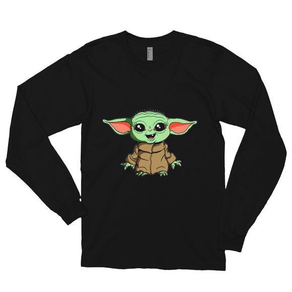 Yoda Long sleeve t-shirt unisex floepr.net