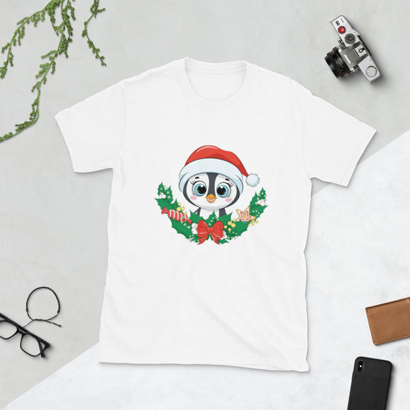 Pinguino Short-Sleeve Unisex T-Shirt flowpr.net