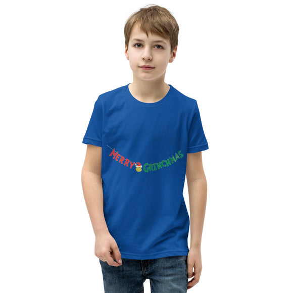Merry GRINCH Youth Short Sleeve T-Shirt FLOWPR.NET