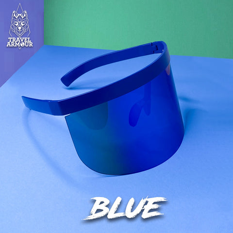 MOON SHIELD - SUNGLASSES - BLUE