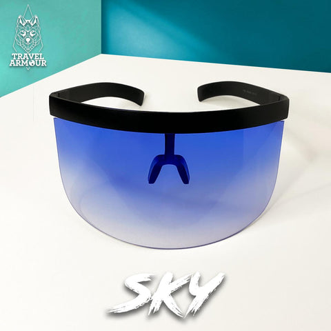 MOON SHIELD - SUNGLASSES - SKY