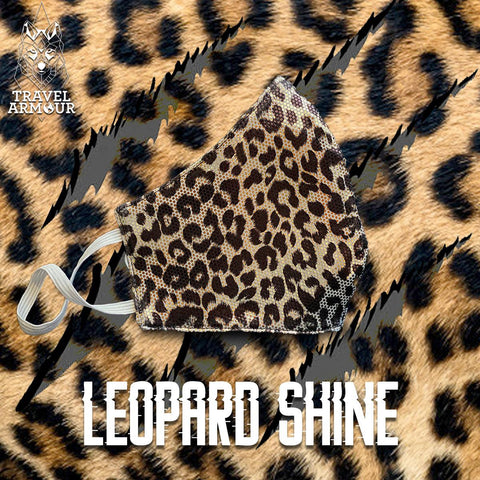 MASK - LEOPARD SHINE