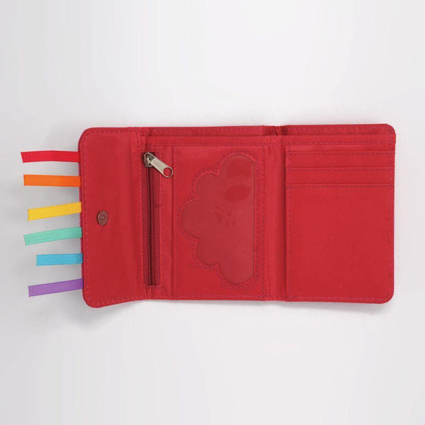 Rainbow Magic Wallet-Hot Pink