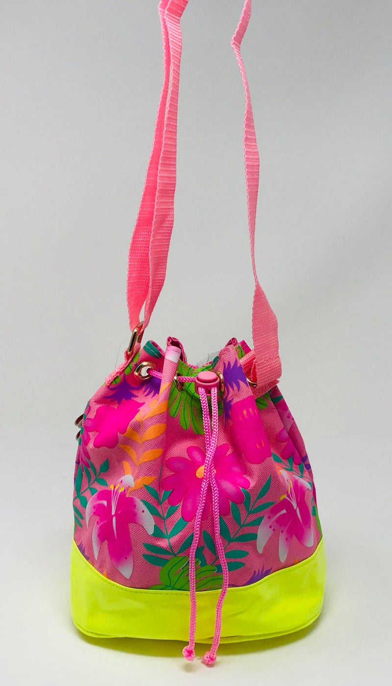 Tropical Tango Cross Body Satchel-Pink