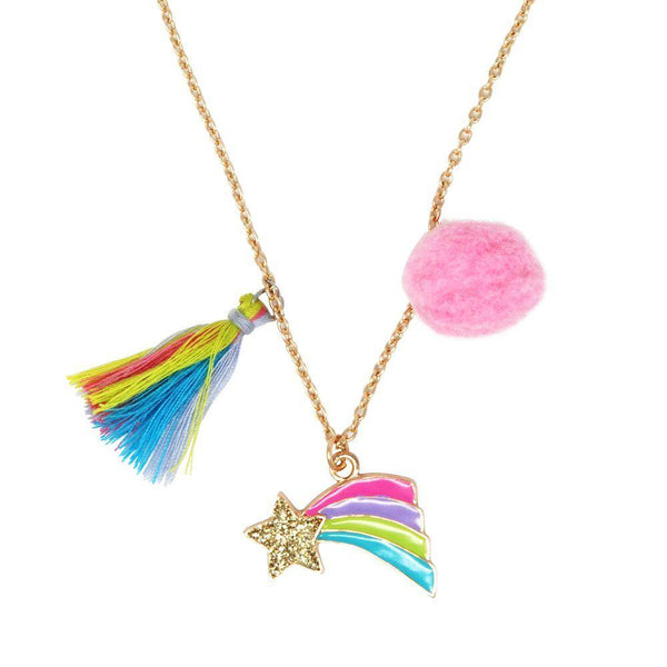 Rainbow Starburst Necklace