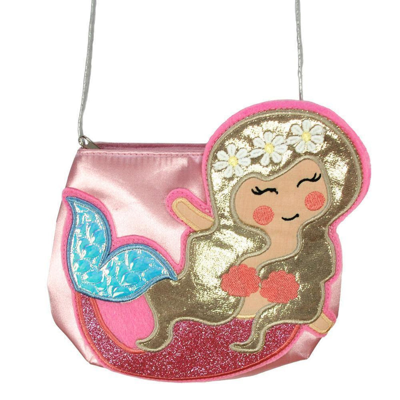 Mermaid Wishes Shoulder Bag-Ppink - shop.pinkpoppy-usa.com