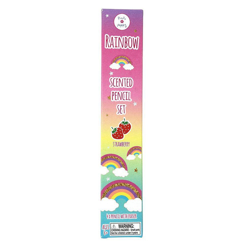 Rainbow Scented Pencils 4 Pack