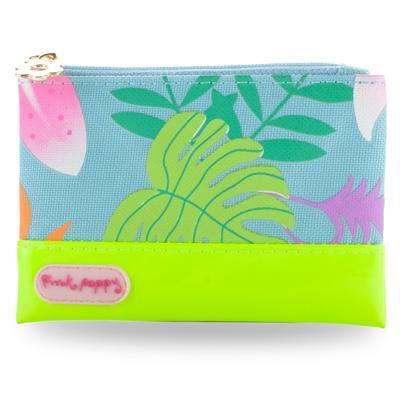 Tropical Tango Coin Purse-Blue