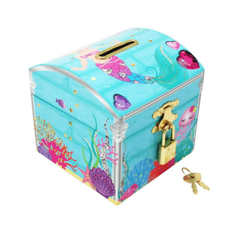 Under The Sea Lockable Money Chest