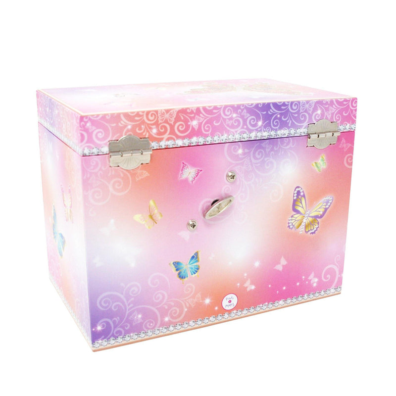Butterfly Skies Medium Music Box (Pack of 2)