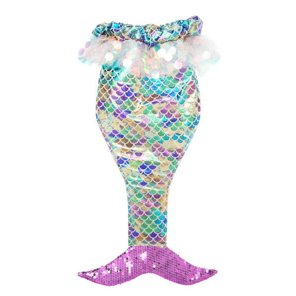 Under The Sea Sequin Mermaid Tail-Purple