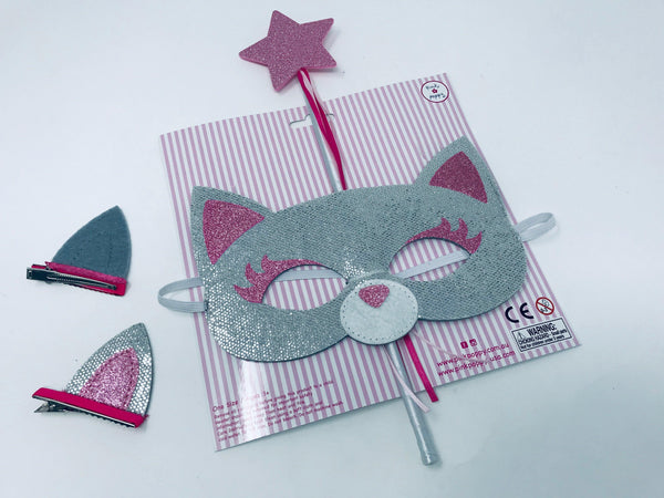 Dress Up Play Set-Silver Cat