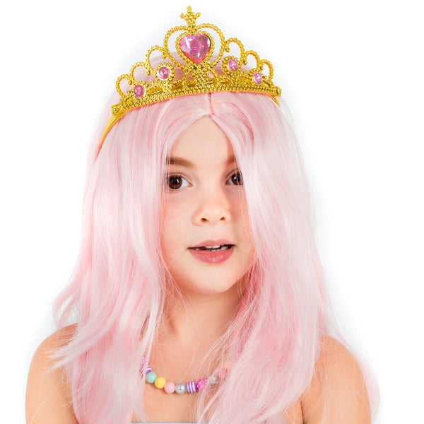 Princess In Pink Wig