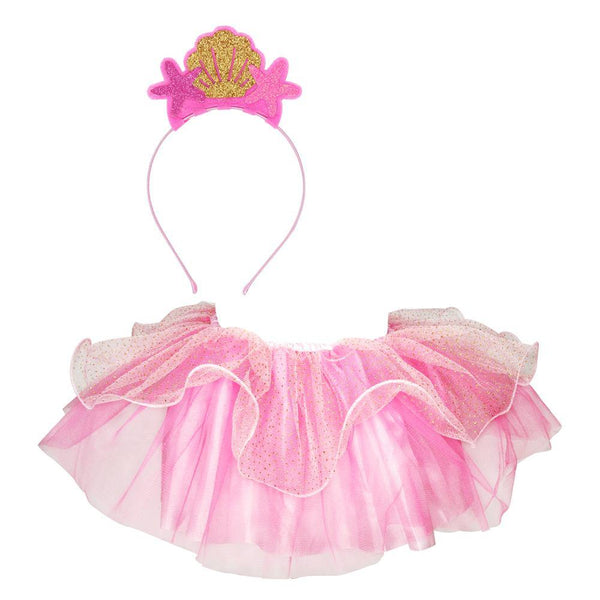 Mer-Mazing Tutu & Headband Set-Pale Pink - shop.pinkpoppy-usa.com