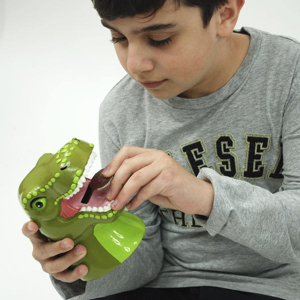 Roaring T-Rex Money Box