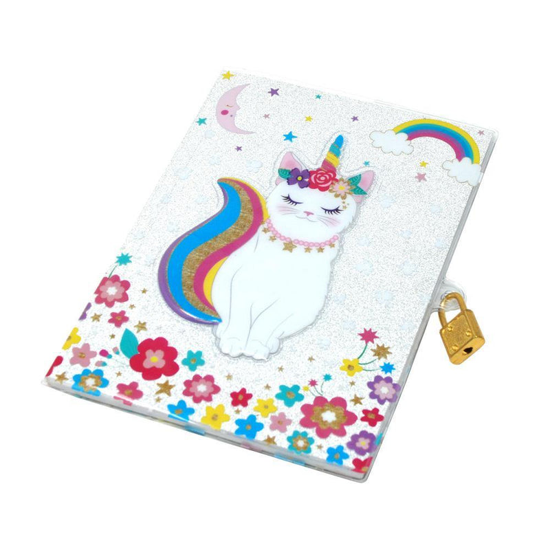 Caticorn 3D Lockable Diary